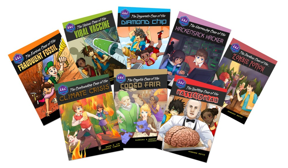 Galactic Academy of Science Book Series