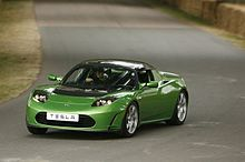 Tesla Roadster Photo Credit: wikipedia