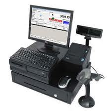 A cash register with an Intel processor