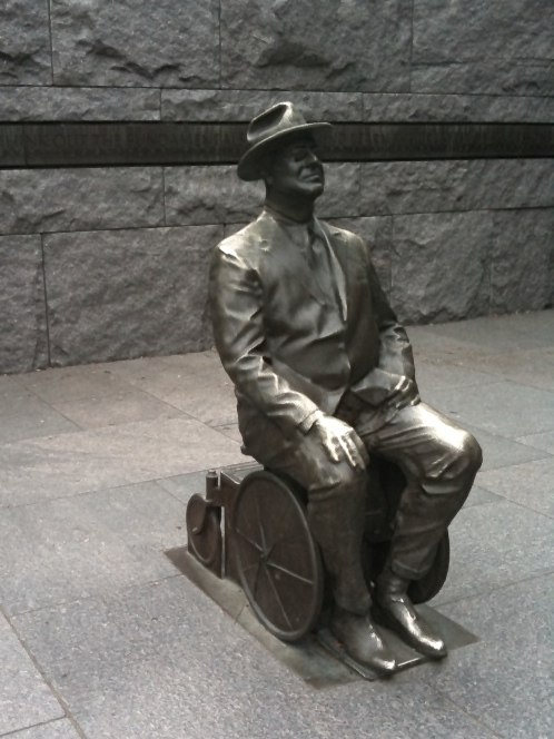 FDR in wheelchair June 2010