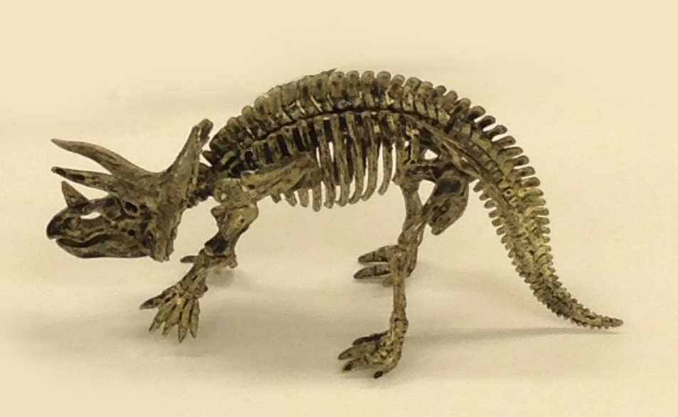 TRICERATOPS: Dinosaur Excavation Kits -- Dig out & build your own ...