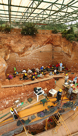 "The La Sima de los Huesos (""Pit of Bones"") Archaeological site"