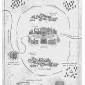 Map of Capella, Location in Ice Castle