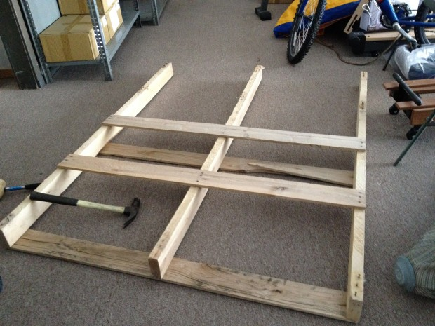 pallet dissassembly