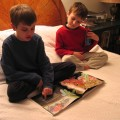 Winter 2005 boys reading 5