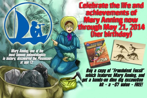 Happy Birthday Mary Anning!