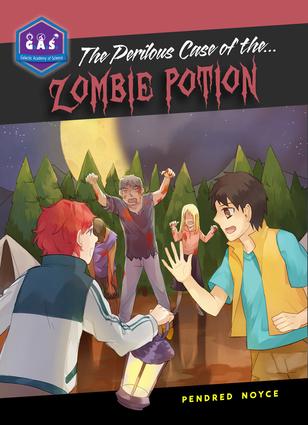 Perilous Zombie Potion Book