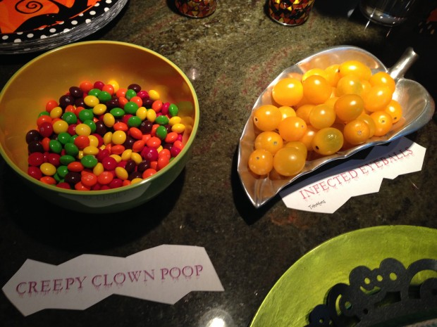 This is true - if you call M&Ms clown poop, no one will eat them.