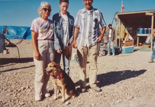 Karl Hirsch with Barnas & Betty Quinn