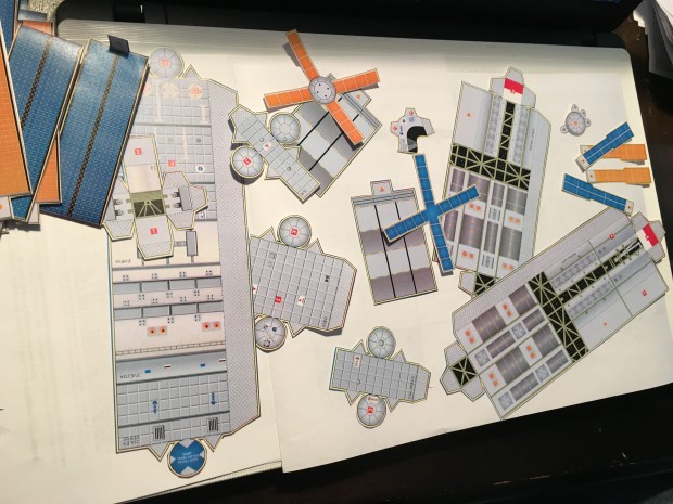 ISS Paper Model