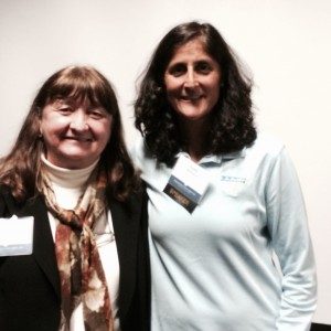 Pat Monteith, Author, with Sunita Williams, Astronaut