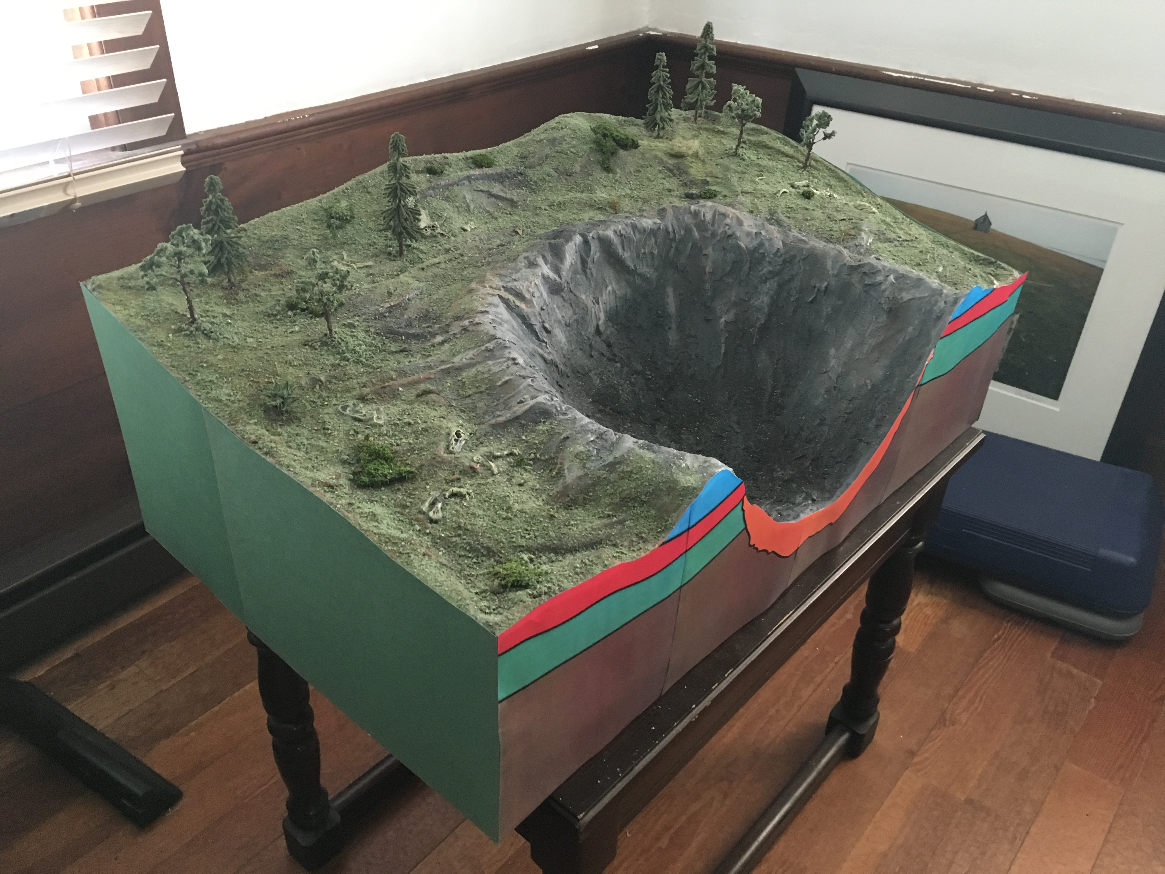 How To Make A Cool Dinosaur Extinction Diorama For Almost Free